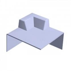 PROGRP C1 Fibreglass External Universal Corner Upstand Kerb